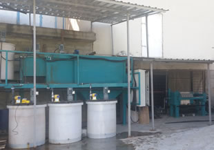 Mobile Chemical Wastewater Treatment Plant