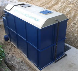 Package Sewage Wastewater Treatment Plant